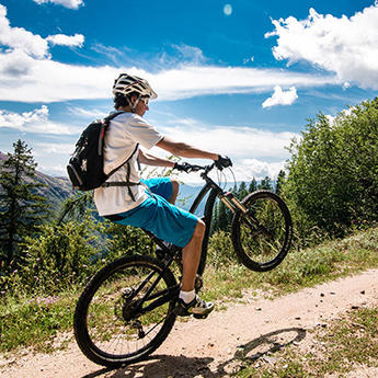 Mountainbiking & electric biking